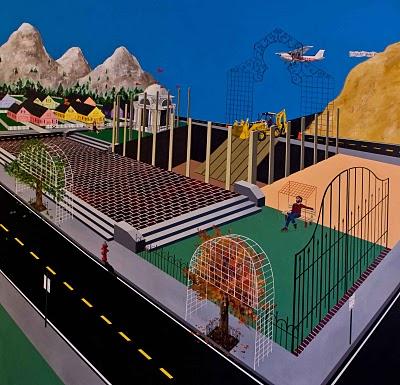 Painting by Elias Necol Melad