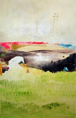 Painting by Annie Ewaskio