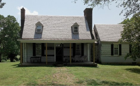 The Clermont Owner's House (1755-1970) Under Restoration 2012