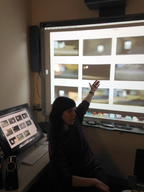Artist Carrie Fucile, explains her in progress video installation for the upcoming Clermont Forum II exhibit which will open to the public April 12th and run until May 31. Carrie will exhibit a video installation in addition to photographic stills.