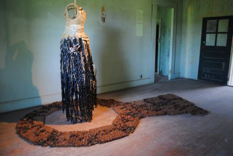 "Oletha DeVane ""Hagar's Desert Dress in Exile"" at the Clermont Forum II"